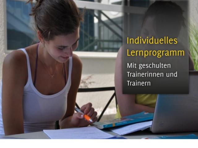 Individuelles Lernprogramm